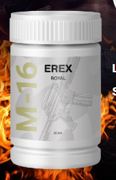 Erex M16 - atsauksmes - kur pirkt - latvija - aptiekās - cena